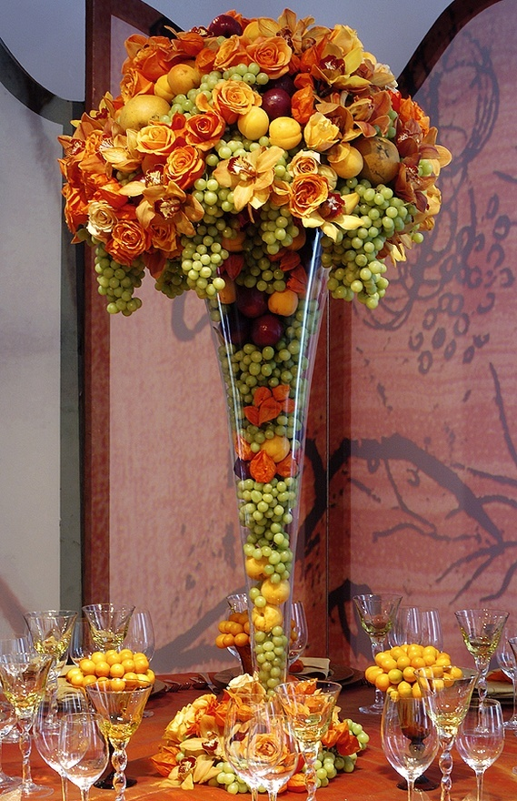 Landmark on the Sound Blog Fall Bouquets and Centerpieces