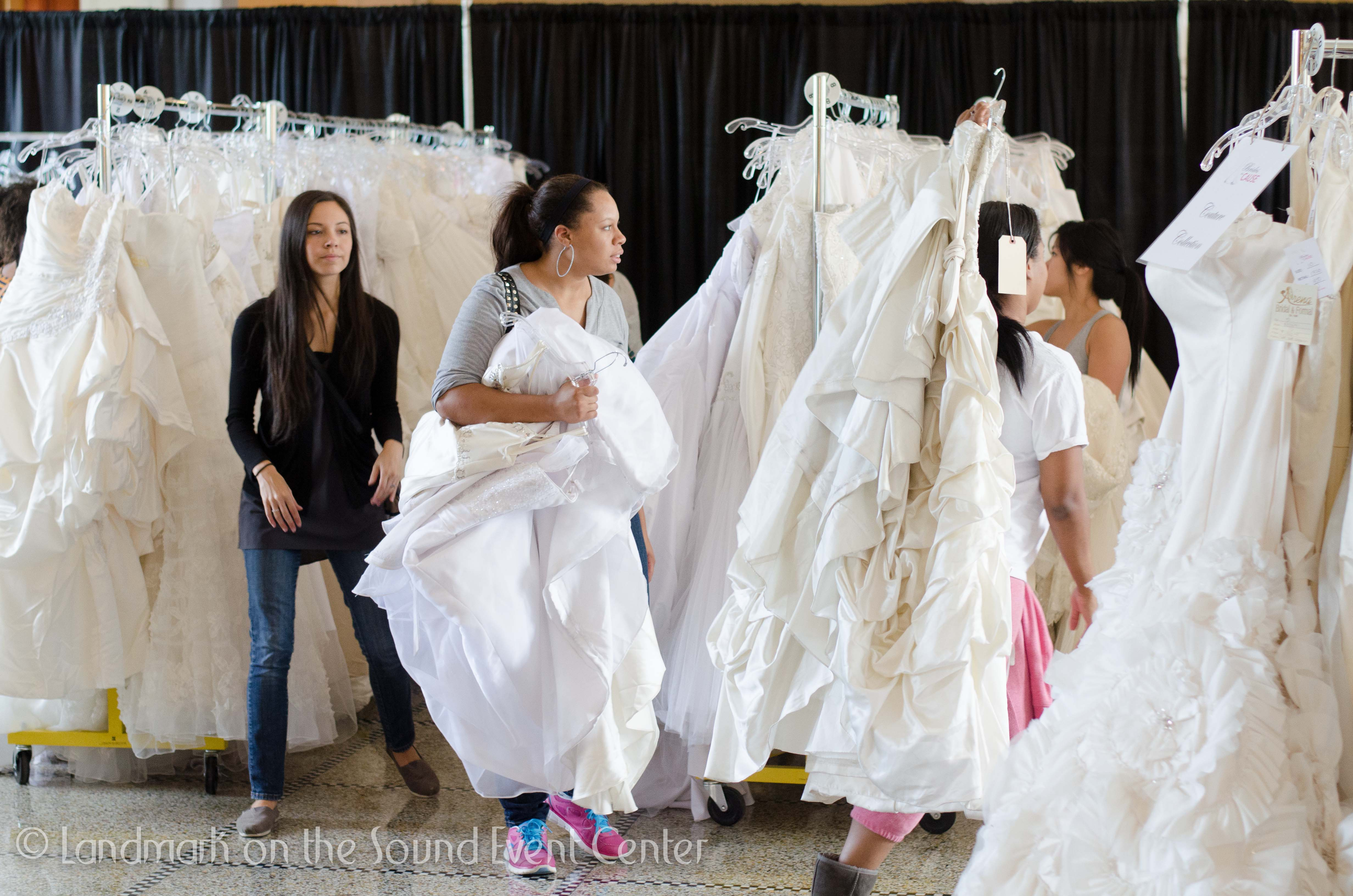 Wedding Gowns at Landmark Event Center Brides for a Cause Wedding ...