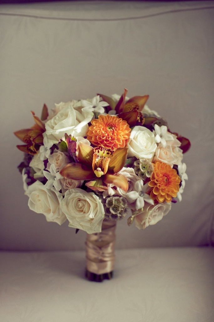 Landmark on the Sound Event Center Fall Bouquets and Centerpieces